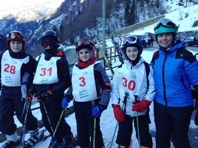 gara di sci a carona